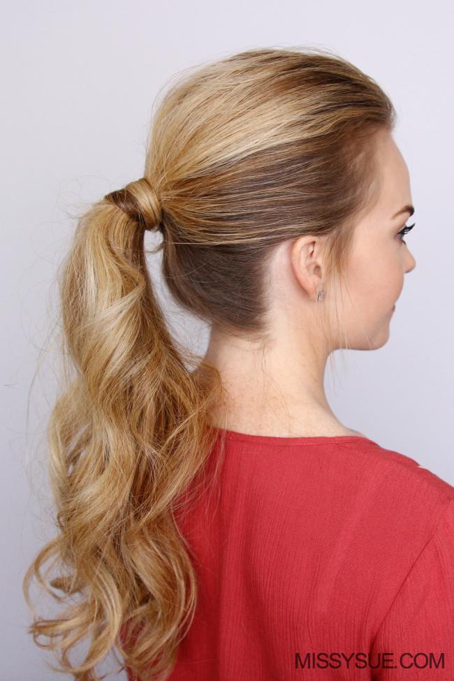 Hollanda örgülü at kuyruğu saç modeli (3)