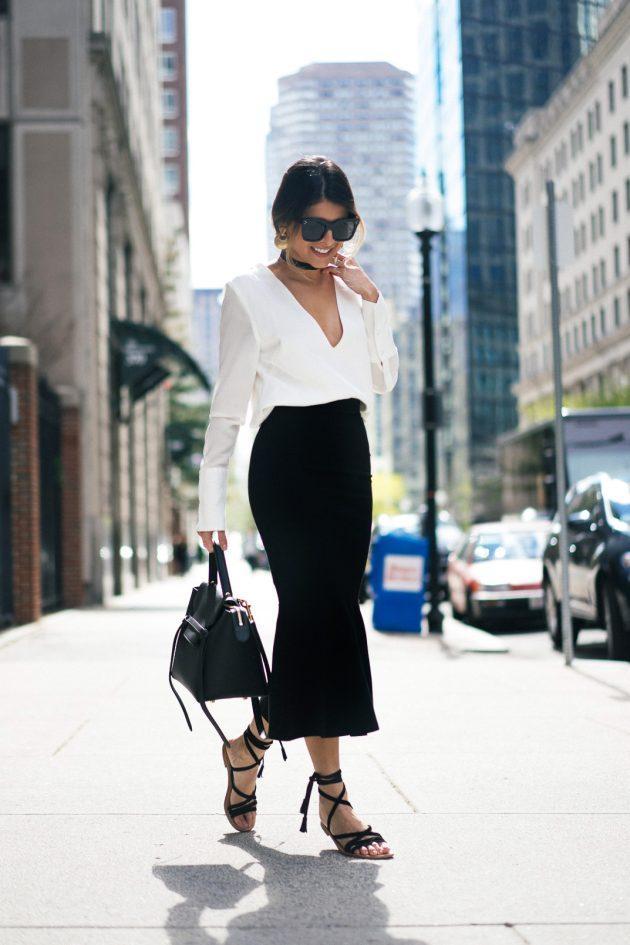 2017-2018 moda trendi beyaz gömlekler (2)