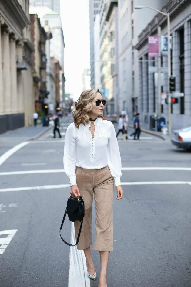Beyaz gömlek kombinleri (1)