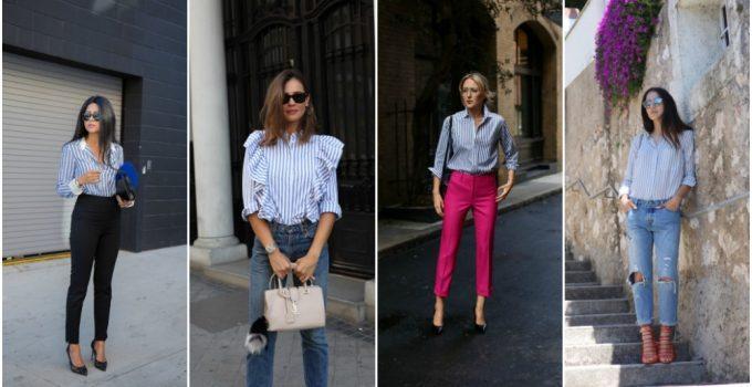 Çizgili Gömlekler Nasıl Kombinlenir?
