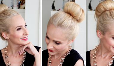 Donut Topuz Saç Modeli Yapımı Resimli Anlatım