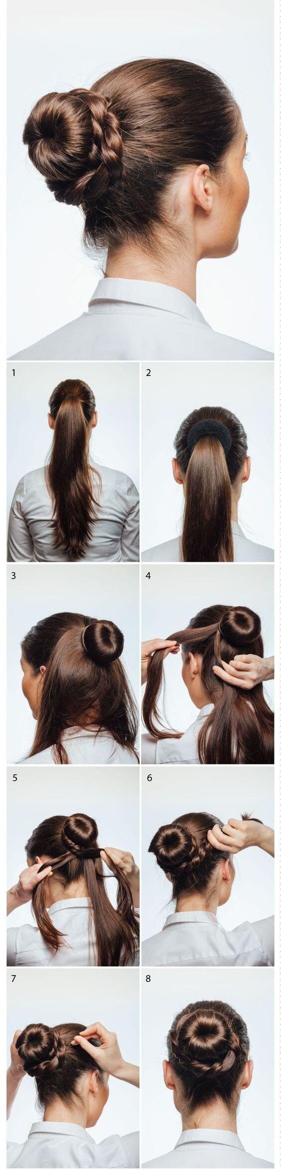 donut saç modeli