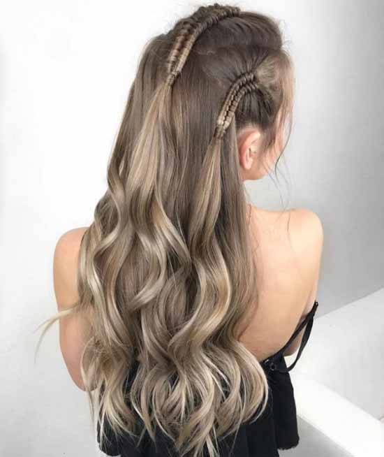 2019 Ombre Saç Modelleri Kızlara Moda