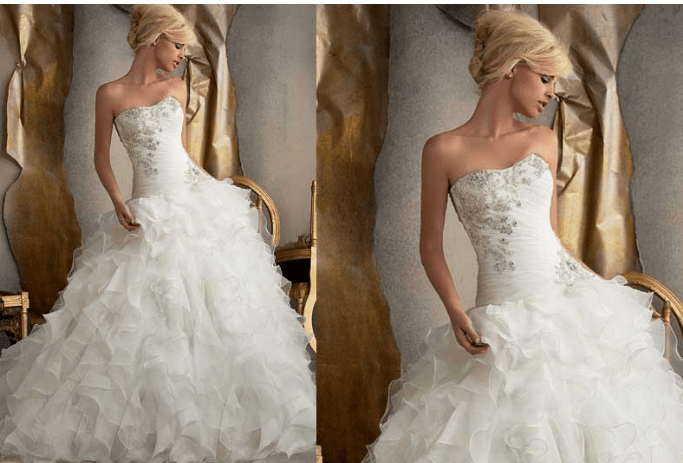 23422548b1157 Taşlı Prenses Gelinlik Modelleri ve Fiyatları 2019-2020 | Kızlara Moda
