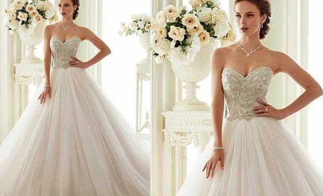 1489c6a25c941 Taşlı Prenses Gelinlik Modelleri ve Fiyatları 2019-2020 | Kızlara Moda