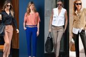 Bayan Kumaş Pantolon Kombinleri 2019-2020