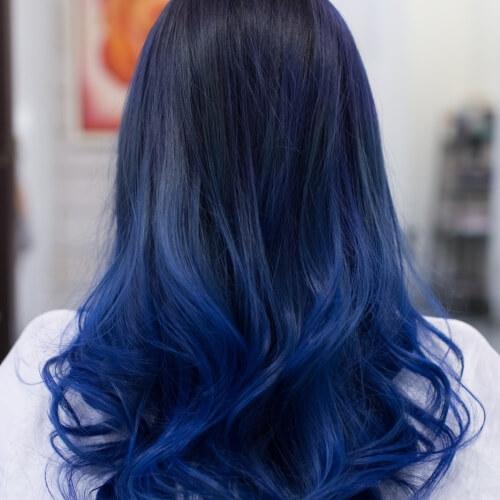 Marjinal Saçlar İçin Mavi ile ilgili görsel sonucu