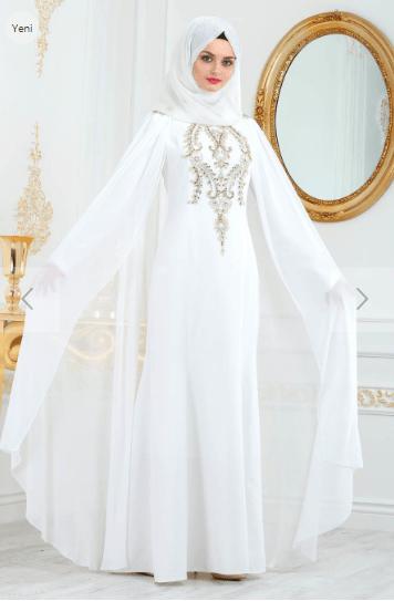 490f831a04594 Nikah Elbisesi Modelleri ve Fiyatları 2019-2020 | Kızlara Moda