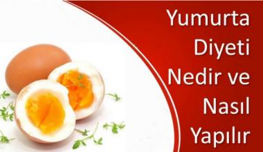 Yumurta Diyeti Yöntemi Nedir,Nasıl Yapılır,Kaç Kilo Verdirir?