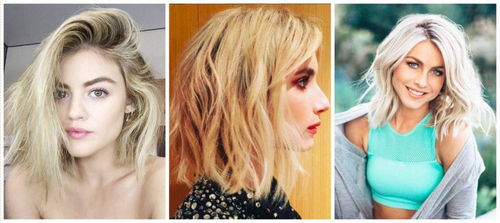 Saç Kesimleri Modasında Lob Saç Modelleri