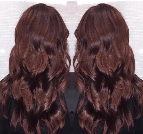 Sıcak çikolata Saç Rengi Ve özellikleri Kızlara Moda
