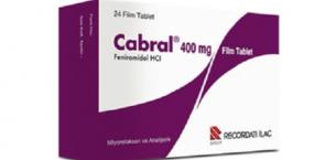 Cabral 400 Mg Ne İçin Kullanılır, Fiyatı?