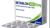 BETABLOK SDK 25 MG Tablet Niçin Kullanılır?